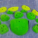 Holds, grips, routes, climb, climbing, rock, gym, rock climbing, Southern Rock